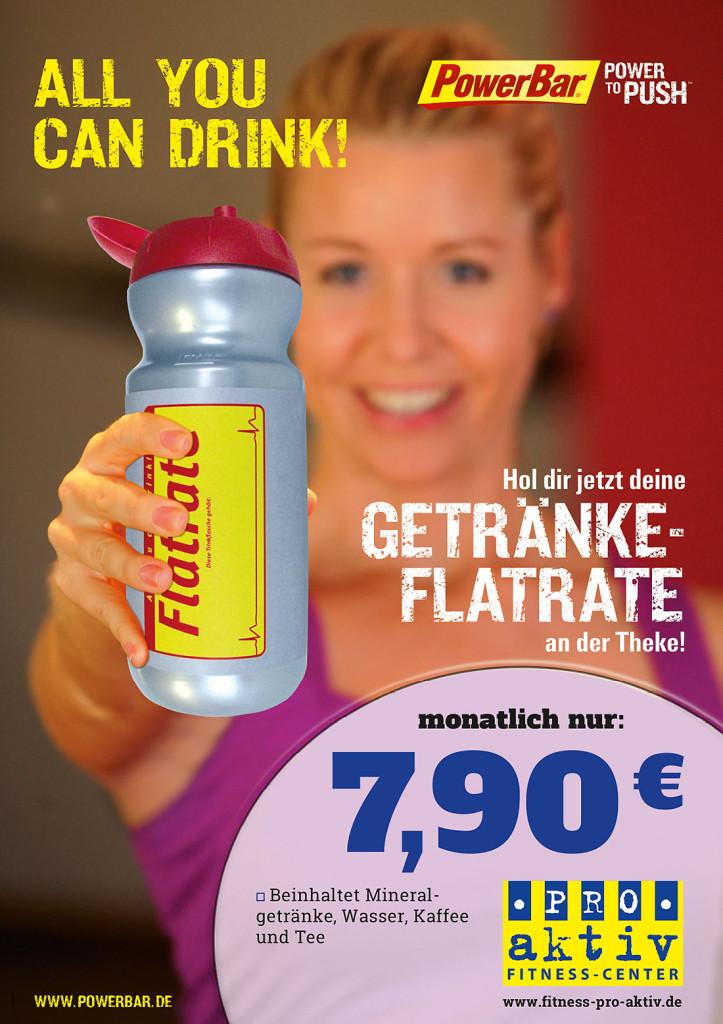 PROaktiv Fitness-Center | Getränke-Flatrate